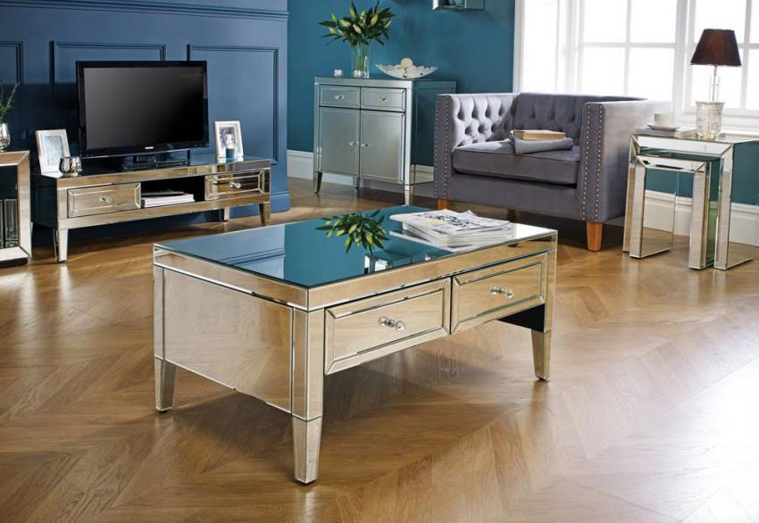 Birlea Furniture - Valencia Mirrored Coffee Table Product Image