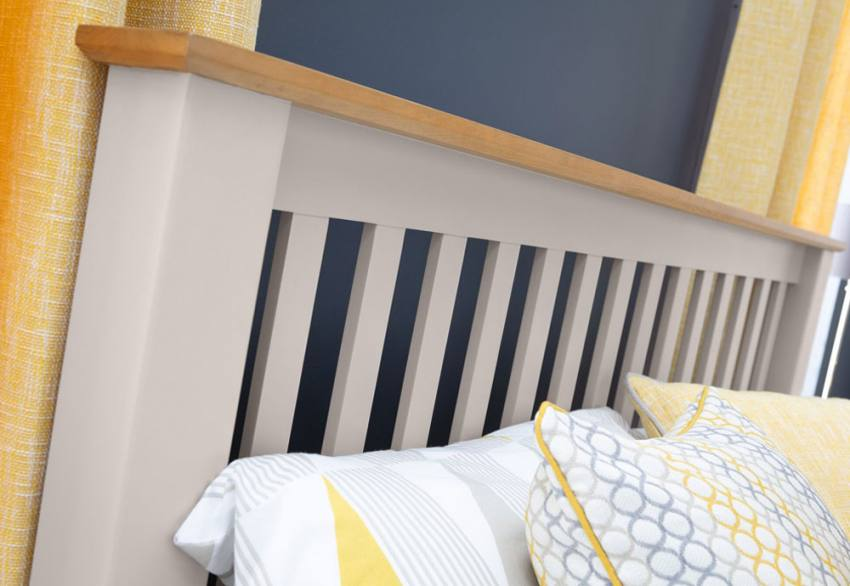 Julian Bowen - Richmond Grey Bed Product Image