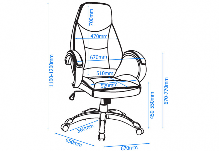 Alphason - Portico Office Chair  Product Image