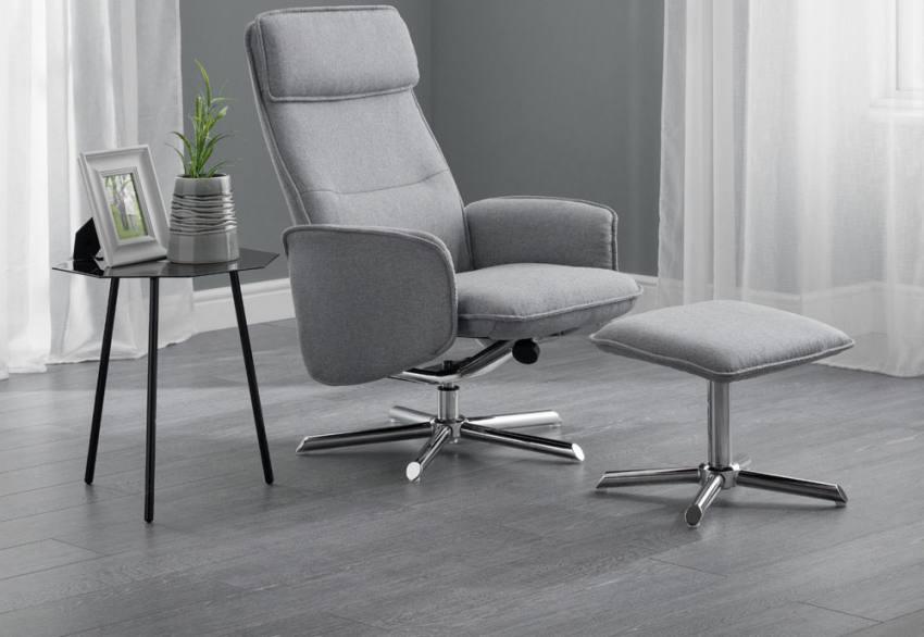 Superb Julian Bowen Aria Fully Adjustable Swivel Recliner Chair Creativecarmelina Interior Chair Design Creativecarmelinacom