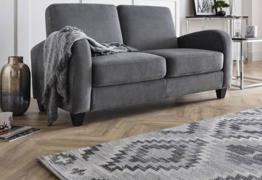 Julian Bowen - Vivo Grey Fabric Chair & Sofa Product Image