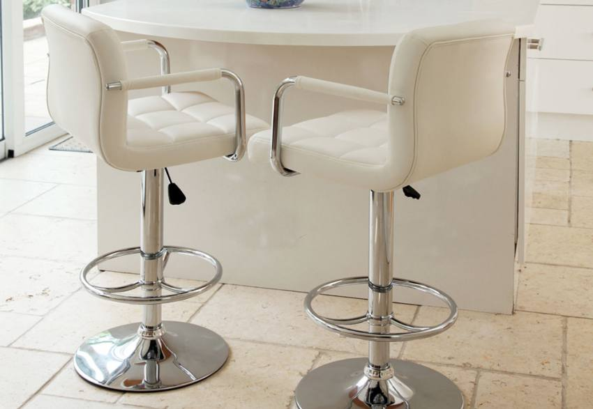 Adjustable Height Wilkinson Furniture Miami Bar Stool