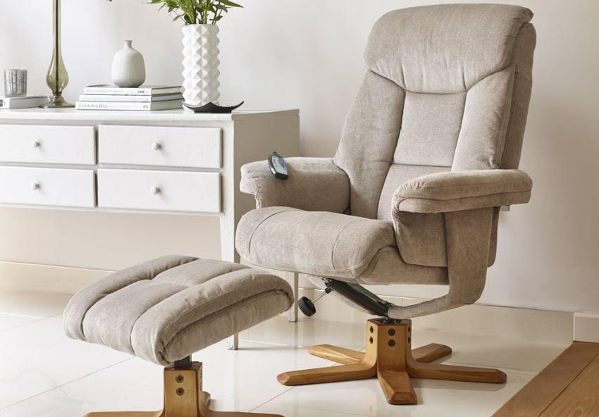 Mink. GFA - Exmouth Massage Swivel Recliner Chair ... & GFA - Exmouth Massage Fully Adjustable Swivel Recliner Chair ... islam-shia.org