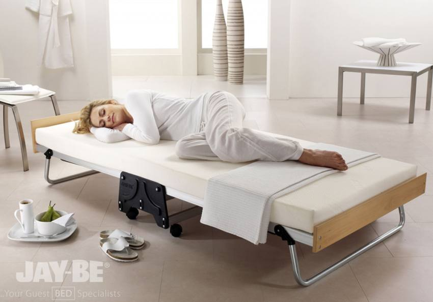 Jay Be J Bed Folding Bed With Memory Foam Mattress