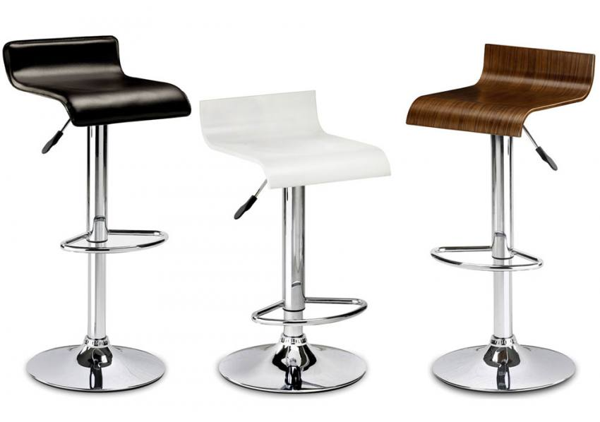 Julian Bowen Stratos Bar Stool With Adjustable Gas Lift