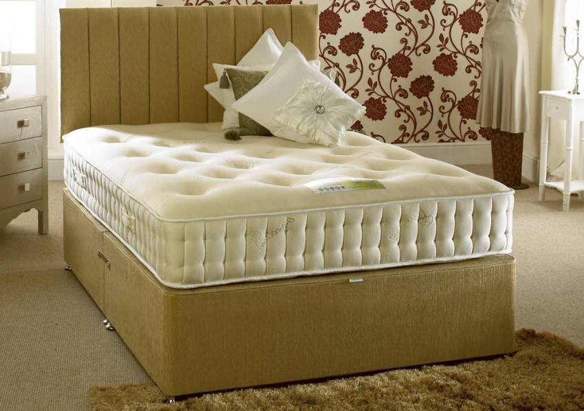 Home Healthopaedic Beds Bio Cotton Latex 1000 Mattress
