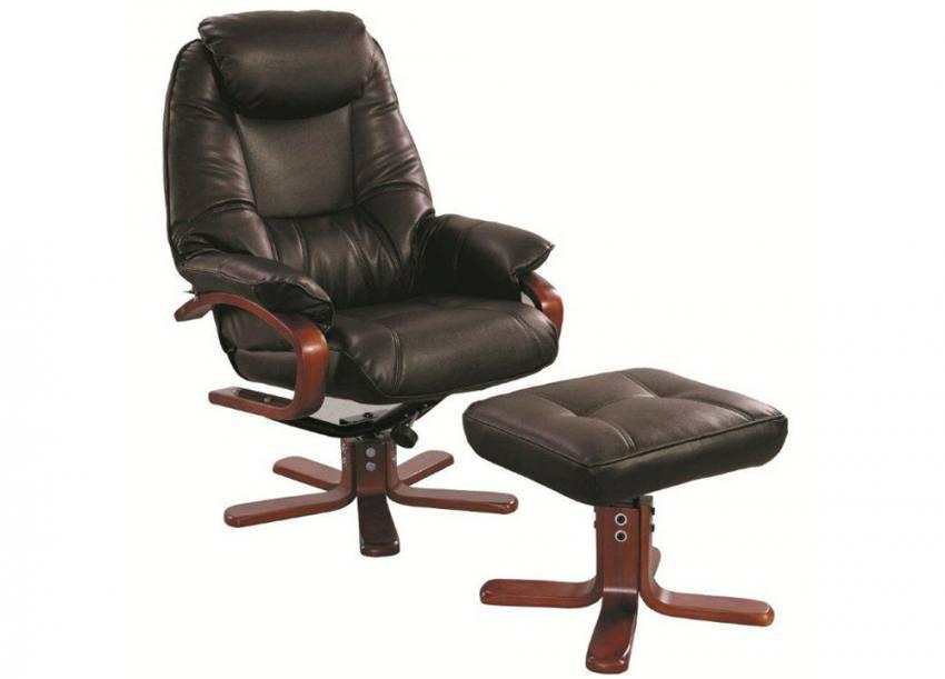 Gfa Macau Fully Adjustable Swivel Recliner Chair Amp Stool