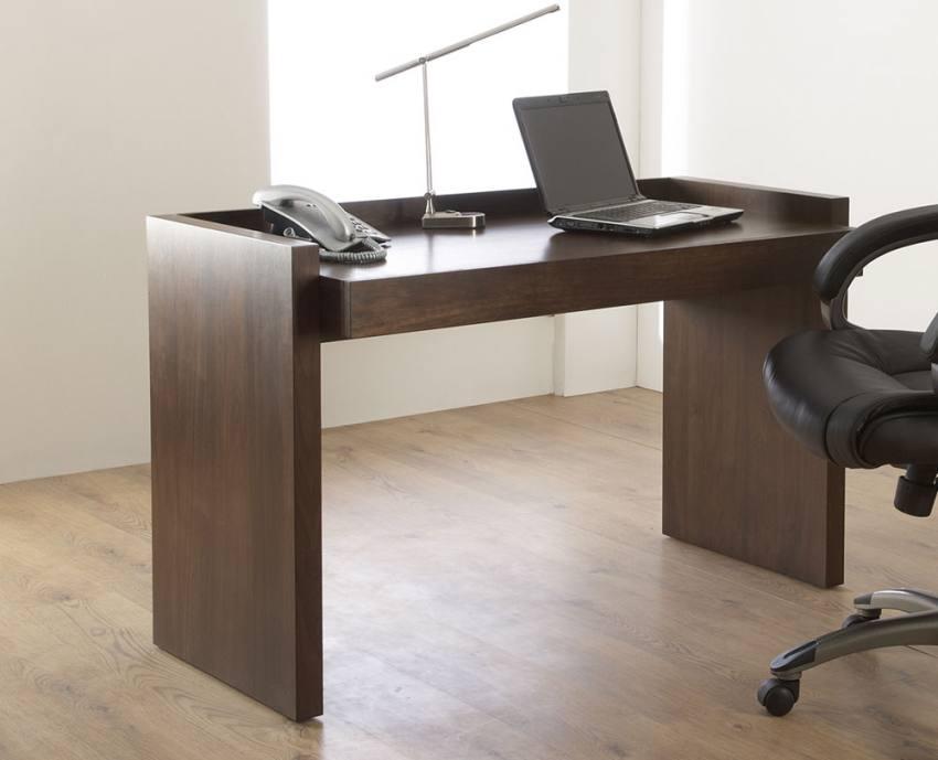 Attirant Walnut Veneer. Alphason   Campbell Home Office Desk ...